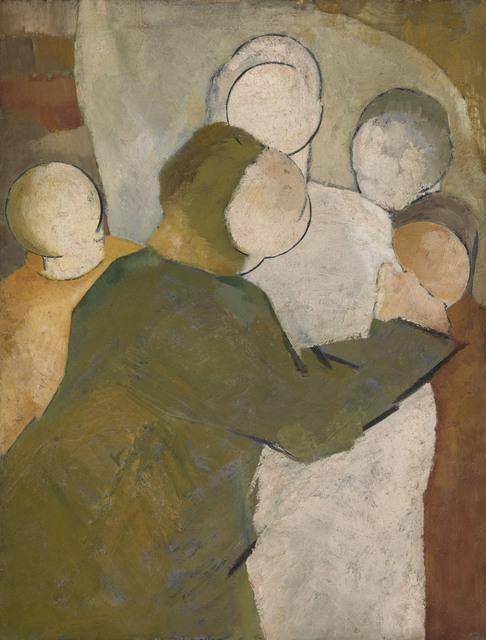 , 'Figure group,' 1967, Waterhouse & Dodd