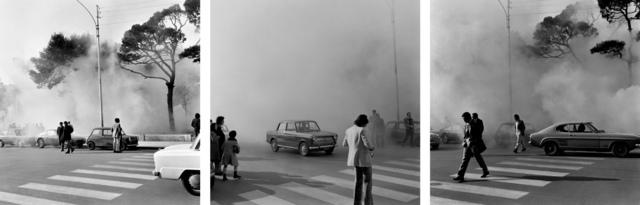 , 'Simulazione d'incendio,' 1970, Giorgio Persano