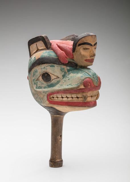 , 'Bear Rattle,' ca. 19, Newark Museum
