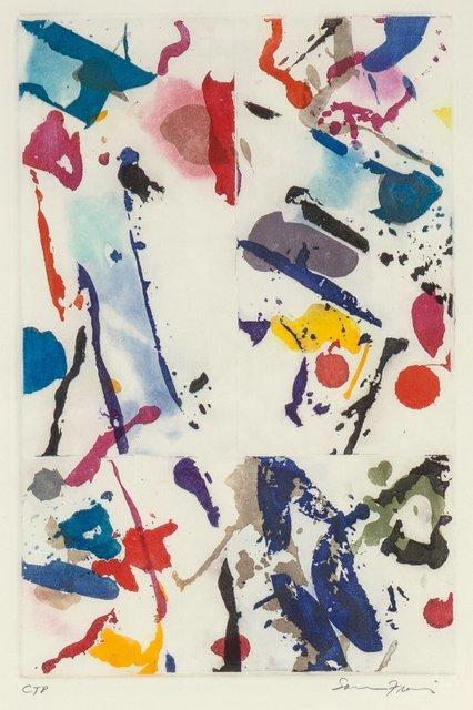Sam Francis, 'Untitled (SFE-055)', 1989, Heritage Auctions