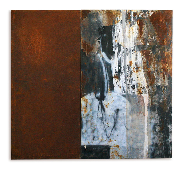 , 'Monolithic Eleventh Steel Monumental (1),' 2015, KM Fine Arts