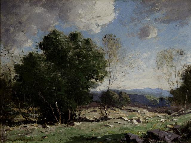 George M. Bruestle, 'Sunny Pastures', 1900, Montclair Art Museum