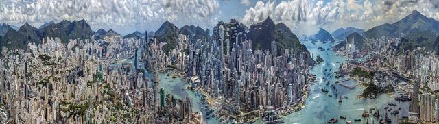 , 'Muta-morphosis Hong Kong #5,' 2014, C.A.M Galeri