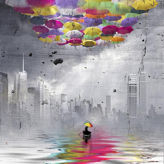 Marie-Laure Vareilles aka Maïlo, 'Colorer le Monde: NYC 2', Simard Bilodeau Contemporary