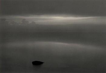 Pentti Sammallahti, 'Haapasaari, Finland', 1980, Photography, Gelatin Silver Print, Peter Fetterman Gallery