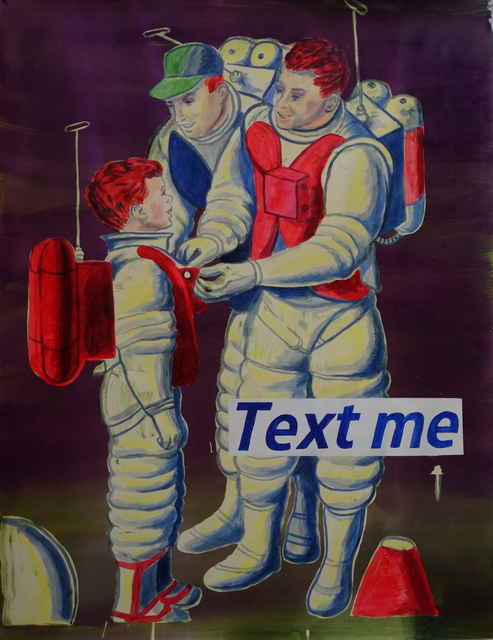 , 'Text Me,' 2015, Gallery 16