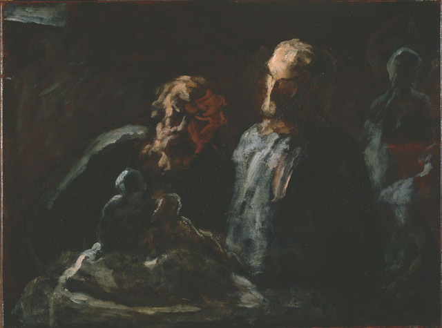 Honoré Daumier, 'Two Sculptors', Between 1870 and 1873, Phillips Collection