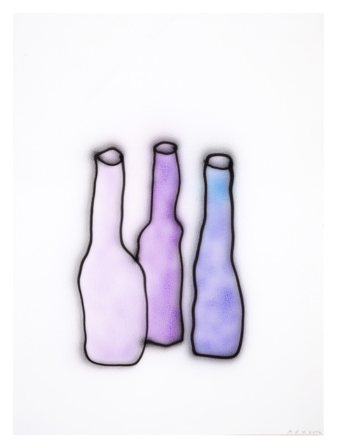 Anne-Lise Coste, 'Purple Bottles', 2014, Lullin + Ferrari