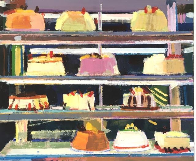 , 'Chinese cakes II,' 2018, Robert Eagle Fine Art
