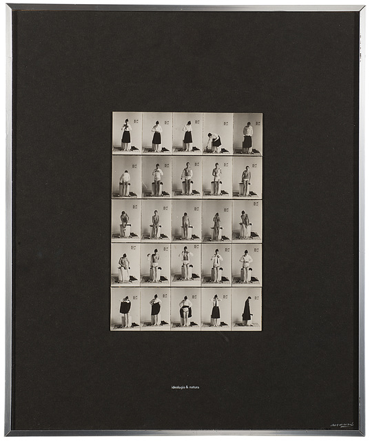 Fabio Mauri, 'Ideologia e natura', 1975, Il Ponte
