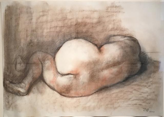 , 'DESNUDO ACOSTADO (ESPALDA) ,' 1977, Glade Gallery