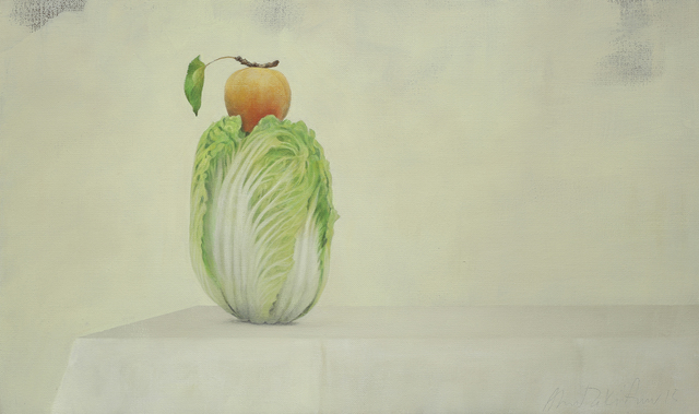 , 'Cabbage and Apricot,' 2015, Galerie Huit