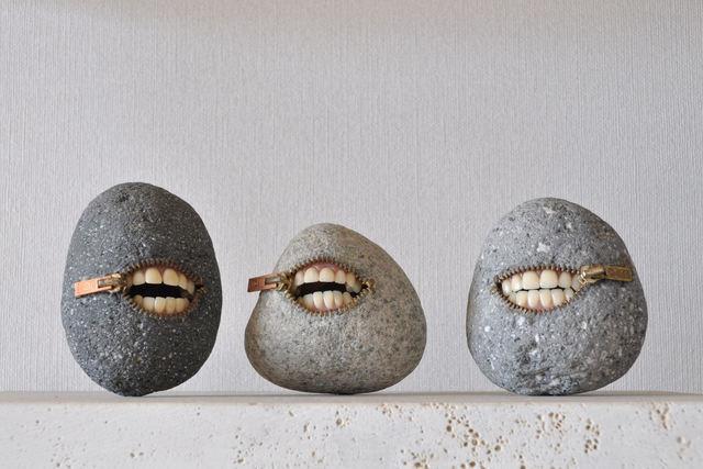 , 'Laughing Stone Trio,' 2017, Villa Domus