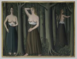 Paul Delvaux, 'The Forest', 1935, Yale University Art Gallery