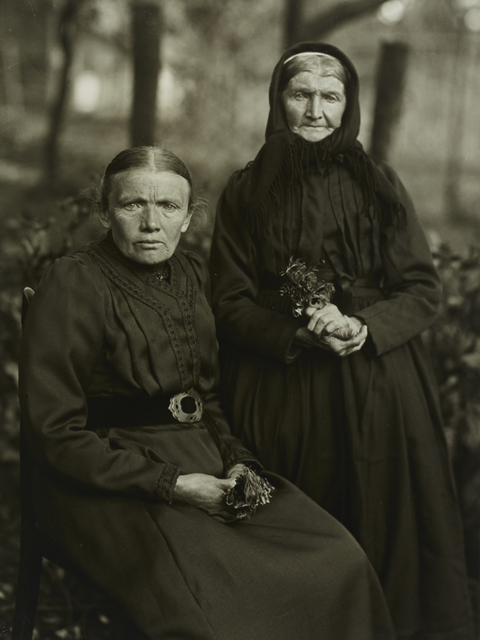 , 'I/2/2 Mother and Daughter - Farmer's Wife and Miner's Wife,' 1912, Galerie Julian Sander