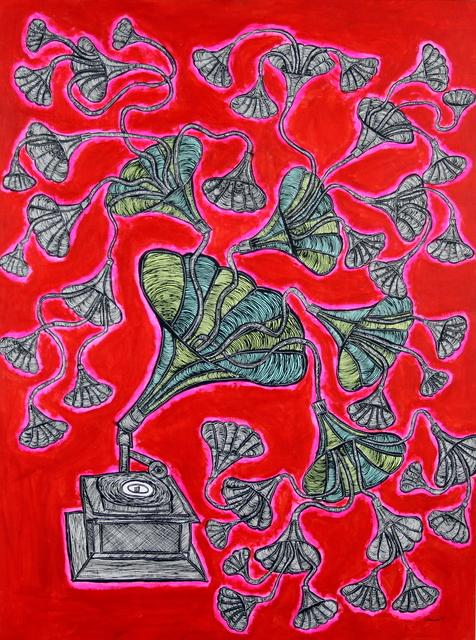 , 'Mingus Record,' 2017, Bitfactory Gallery