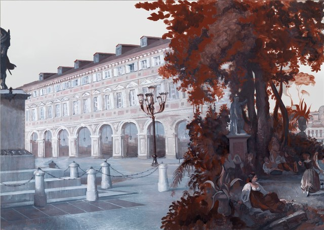 Rachel Feinstein, 'Panorama of Rome 2012 (panel 7)', 2012, Gagosian