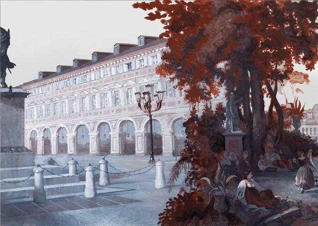 , 'Panorama of Rome 2012 (panel 7),' 2012, Gagosian