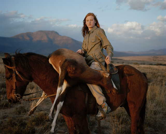 , 'Huntress with Buck, South Africa (Taylor Wessing Portrait Winner),' 2012, Francesca Maffeo Gallery