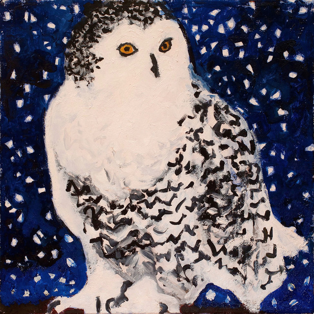 , 'Snowy Owl,' , The Lionheart Gallery