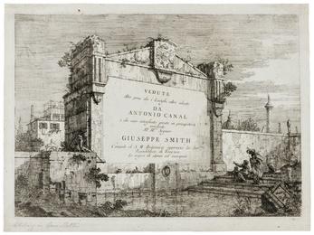 Vedute altre prese da i luoghi altre ideate da Antonio Canal