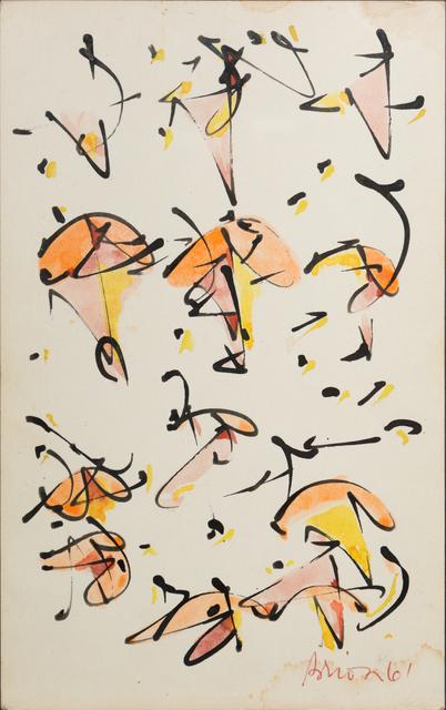 , ' no 10,' 1961, October Gallery