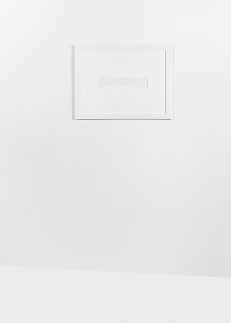", 'Untitled (#9 from the series ""In-visibilis""),' 2014, 6×7 Gallery Warsaw"