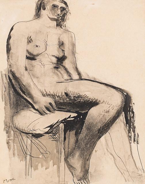 , 'Seated Nude,' 1929, Rosenberg & Co.
