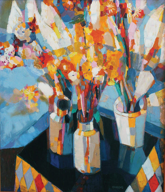 , 'Flowers,' 1965, Paul Scott Gallery & galleryrussia.com