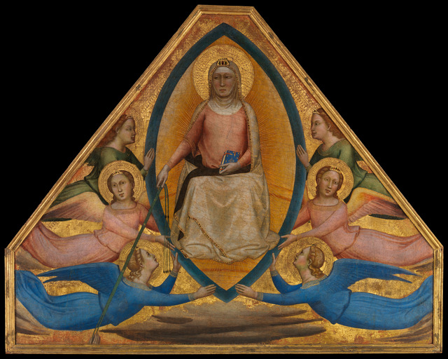 Bernardo Daddi, 'The Assumption of the Virgin', ca. 1337–1339, The Metropolitan Museum of Art