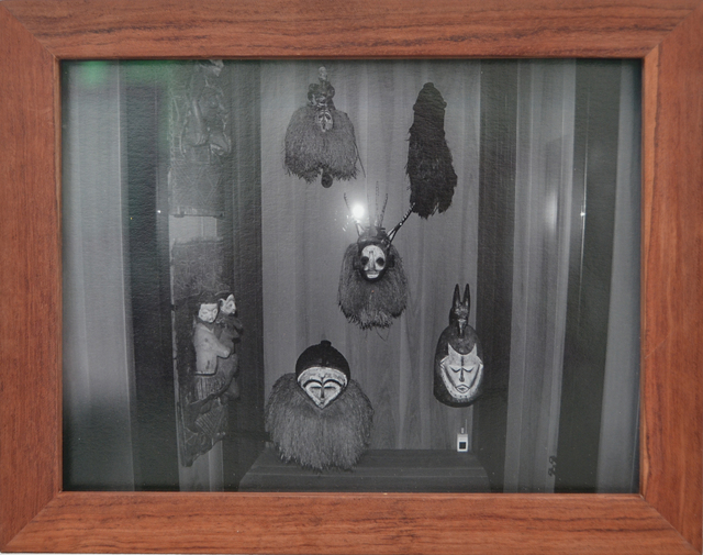 , 'Ethnography #1_African Masks, Musee Quai Branly,' 2014, Tatjana Pieters