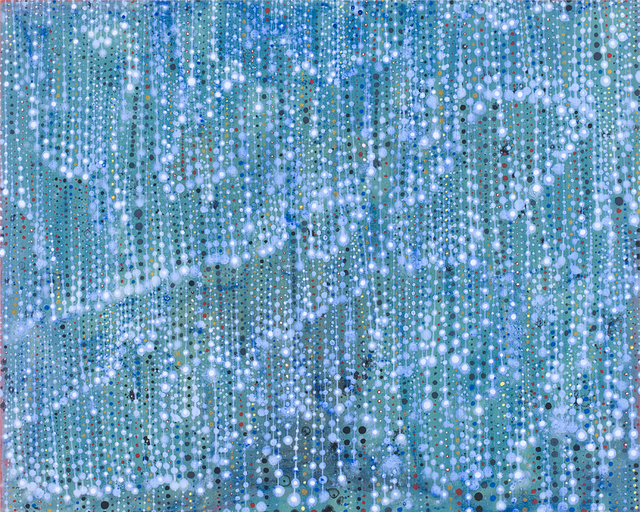 , 'Small Folds (Bluegreen),' 2019, Robischon Gallery