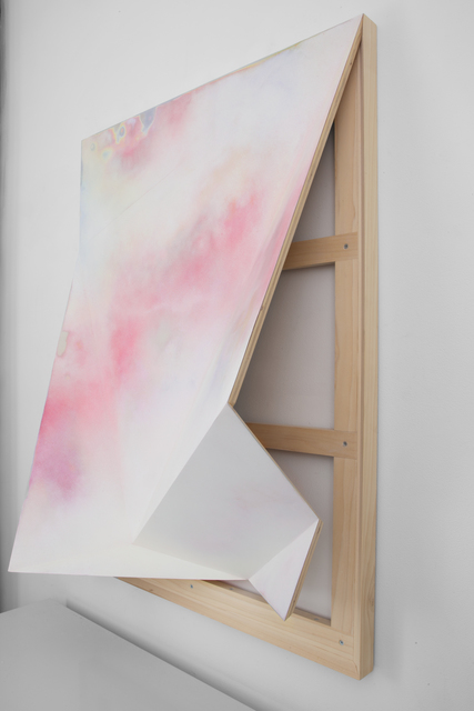 , 'Untitled (Torqued Panel #10),' 2016, Denny Gallery