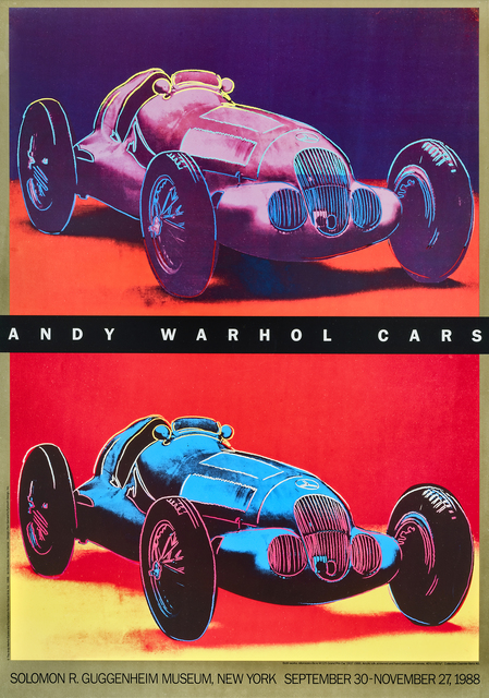 Andy Warhol, 'Andy Warhol Cars', 1988, Tate Ward Auctions