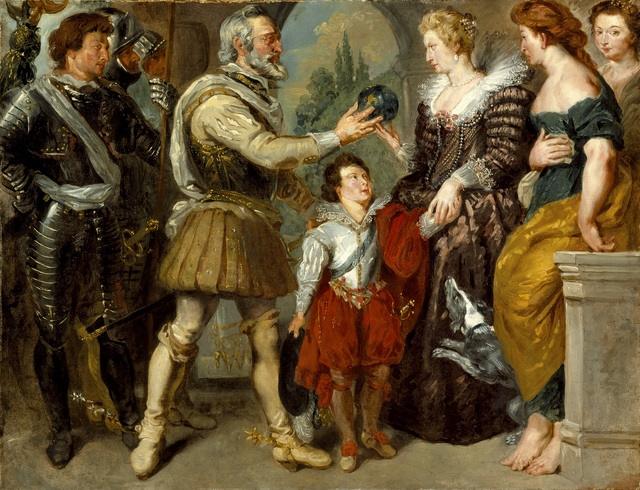 , 'Henri IV conferring the Regency on Marie de' Medici (after Rubens) ,' 1825-1830, The National Gallery, London