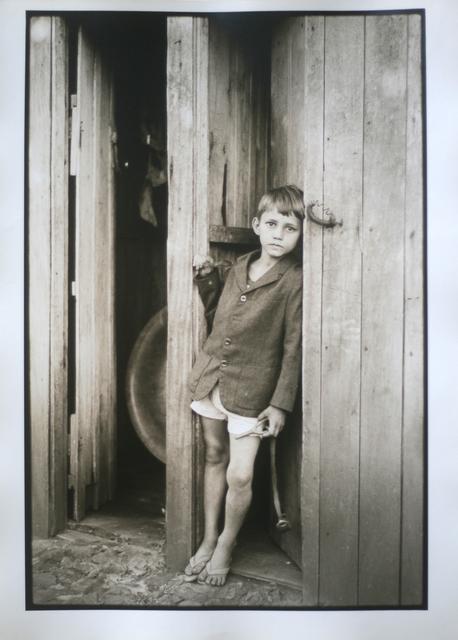 , 'São Paulo, boy at the door, 1974,' Vintage, Utópica
