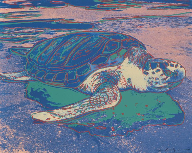 Andy Warhol, 'Turtle', 1985, OSME Fine Art