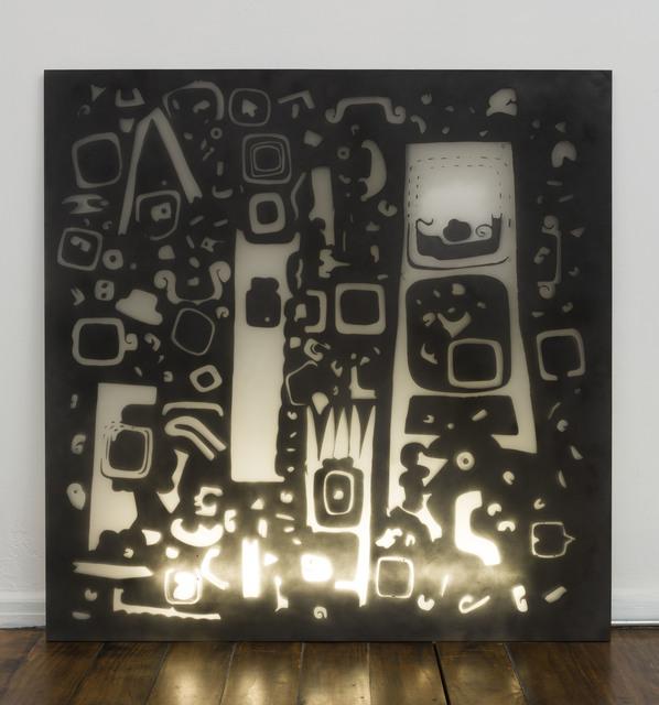 , 'Mesoamerican Negative Space 1,' 2017, Tina Kim Gallery