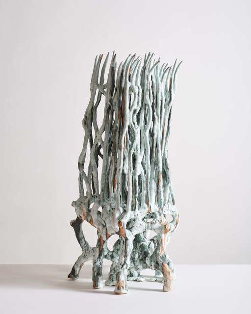 Bente Skjøttgaard, 'Flagella #2056', 2020, Sculpture, Glazed stoneware, Jason Jacques Gallery