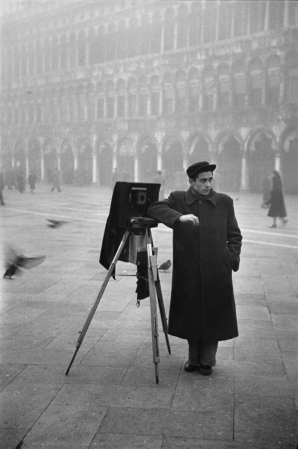 , 'Photographer in Piazzo San Marco, Venice,' 1950, Artist's Proof