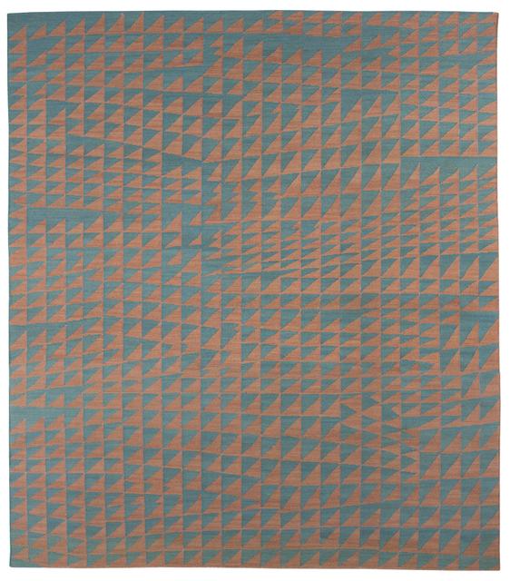 , 'Composition in Aquamarine Coral,' 2015, Maddox Arts