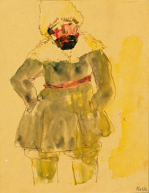 , 'Stehender Sibirier (Standing Sibirian) ,' 1913, Galerie Herold