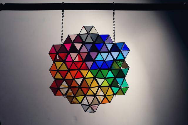 , 'The Rainbow Prism ,' 2018, Philadelphia's Magic Gardens