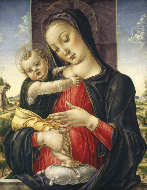 Bartolomeo Vivarini, 'Madonna and Child', ca. 1475, National Gallery of Art, Washington, D.C.
