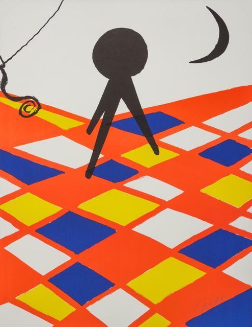 Alexander Calder, 'Tabouret a trois pieds, Circa', 1973, Kunzt Gallery
