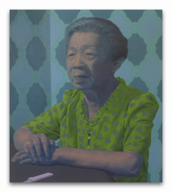 , 'Grandma at the Table,' 2015, New York Academy of Art