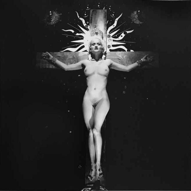 , 'Female Crucifixion,' 1989, Espacio Mínimo