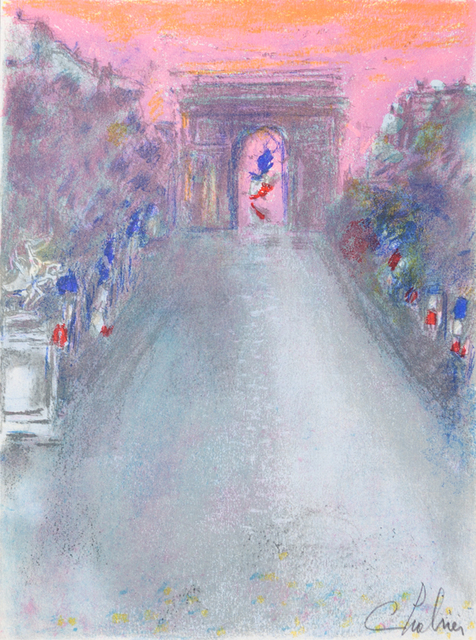 Nathalie Chabrier, 'France Dimanche', 1982, Art Lithographies