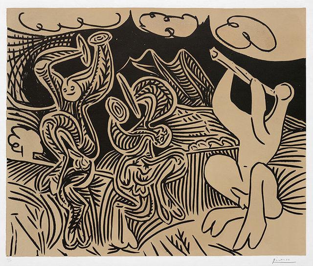 , 'Danseurs et musicien (Dancers and musician), 1959,' 1959, Masterworks Fine Art