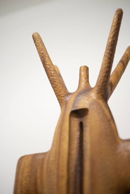 Aleph Geddis, 'Fores', 2020, Sculpture, Hand-carved Monkeypod wood, Massey Klein Gallery